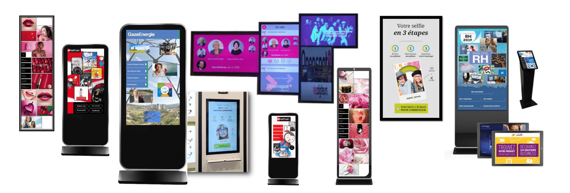 Quelques références du mur digital