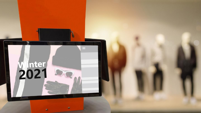 Le mur digital devient acteur dans la vente de produit en boutique, il attire l'oeil vers de nouveaux produits, mets en avant vos collection...